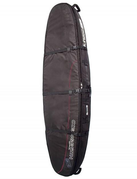 Ocean & Earth Double Coffin Longboard surfboard bag 10mm 10ft 6 - Black