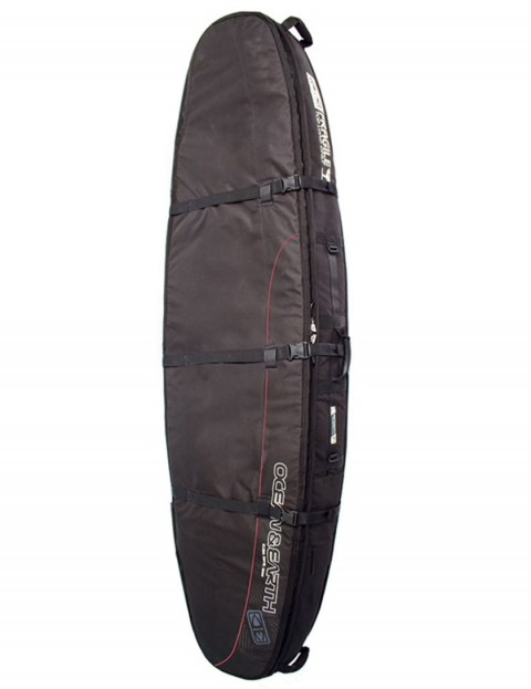 Ocean & Earth Double Coffin Shortboard surfboard bag 10mm 6ft 0 - Black
