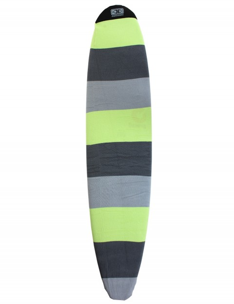 Ocean & Earth Longboard Surfboard Stretch Cover 8ft 0 - Lime