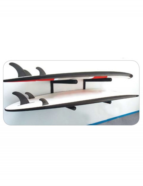 Ocean & Earth Longboard/SUP Stack Rax - Black