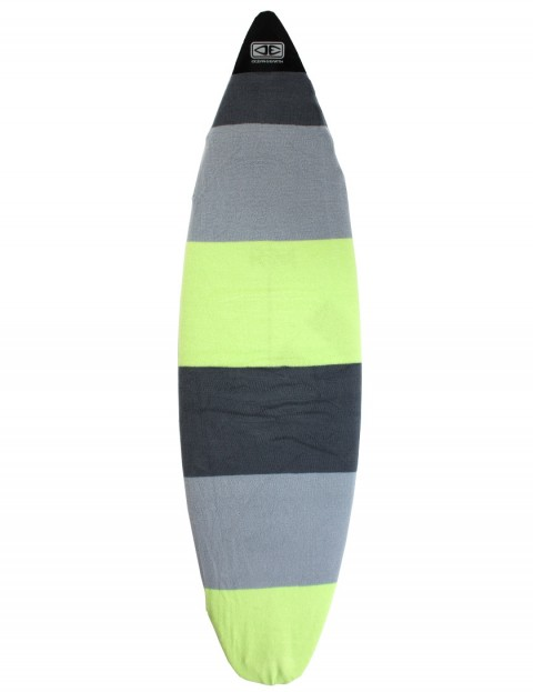 Ocean & Earth Shortboard Surfboard Stretch Cover 6ft 0 - Lime