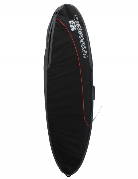 Ocean & Earth Triple Compact Shortboard surfboard bag 10mm 6ft 0 - Black