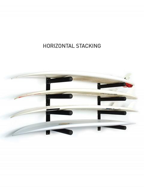 Ocean & Earth Stack Rax surfboard rack - Black