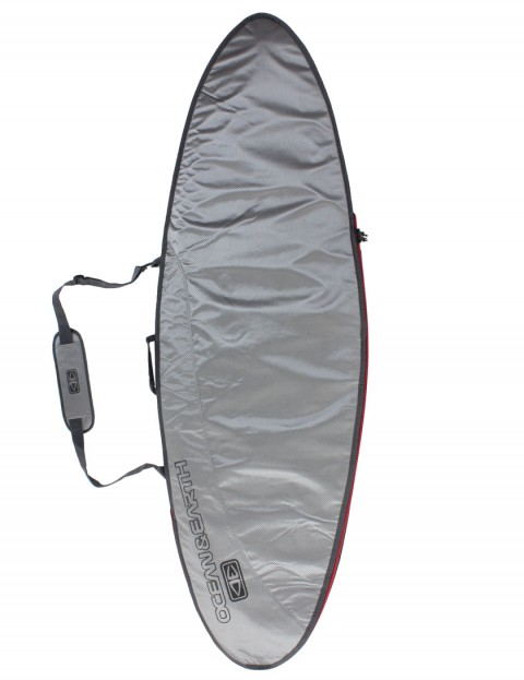 Ocean & Earth New Compact Day Fish surfboard bag 5mm 6ft 0 - Surf Silver