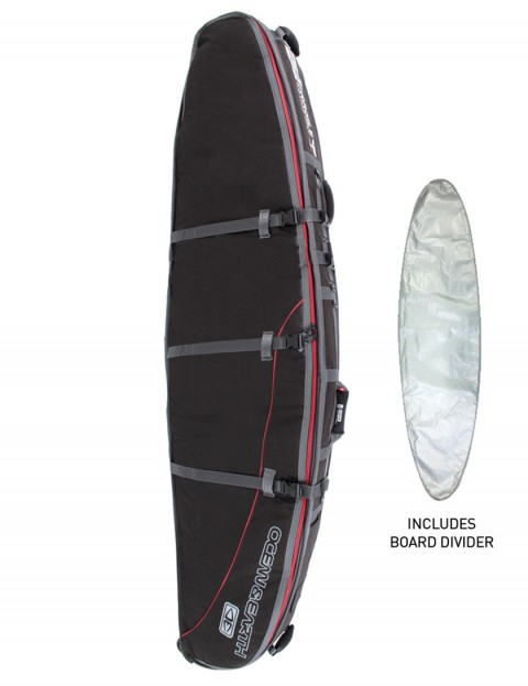 Ocean & Earth GTS Double Wheely Longboard surfboard bag 10mm 9ft 6 - Black