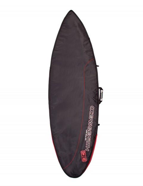 Ocean & Earth Aircon Shortboard surfboard bag 10mm 7ft 0 - Black