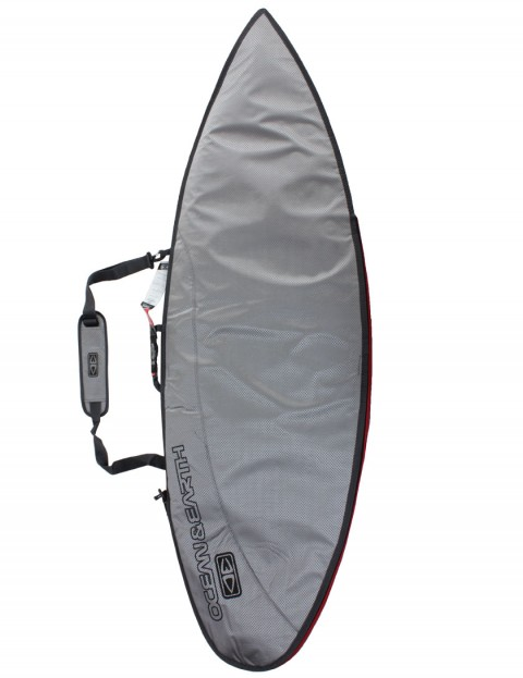 Ocean & Earth New Compact Day Shortboard surfboard bag 5mm 6ft 0 - Surf Silver