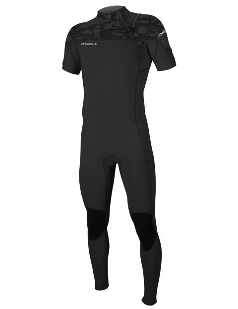 O'Neill Hammer Short Sleeve 2mm wetsuit 2019 - Black/Black/Jet Camo