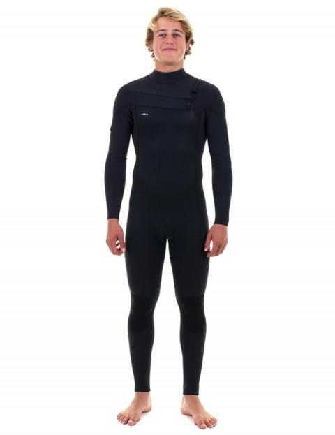 O'Neill Hyperfreak Chest Zip 3/2mm wetsuit 2019 - Black/Black