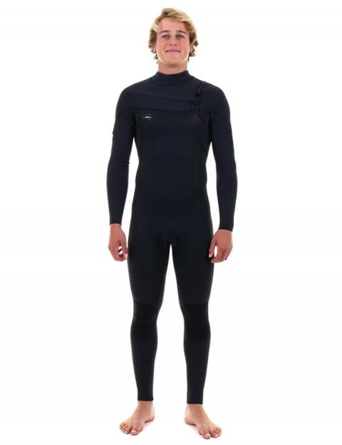 O'Neill HyperFreak Chest Zip 4/3mm wetsuit 2019 - Black/Black