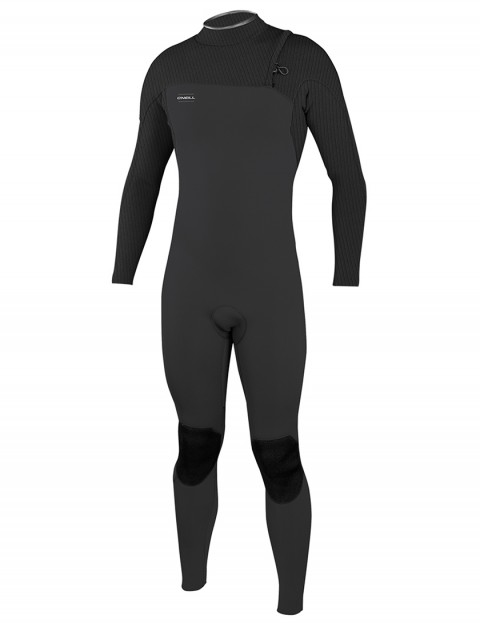 O'Neill HyperFreak Comp Zip Free 5/4mm wetsuit 2019 - Midnight Oil/Graphite