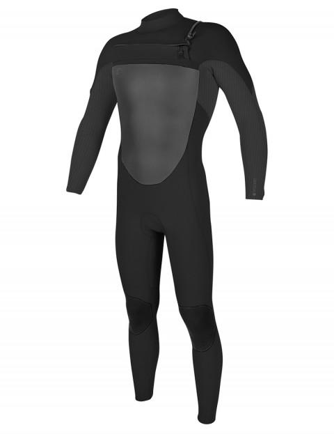 O'Neill O'Riginal Chest Zip 4/3mm wetsuit 2018 - Black/Graphite Pin