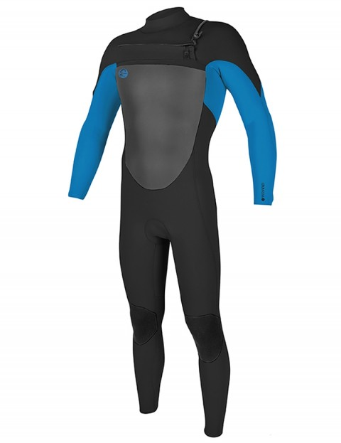 O'Neill O'Riginal Chest Zip 3/2mm wetsuit 2018 - Black/Ocean