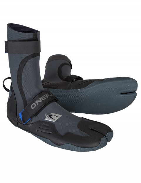 O'Neill Psycho Tech Split Toe 4/3mm wetsuit boots - Black