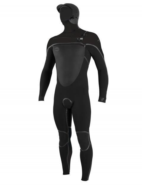 O'Neill Psycho Tech 6/4mm Hooded wetsuit 2019 - Black/Black