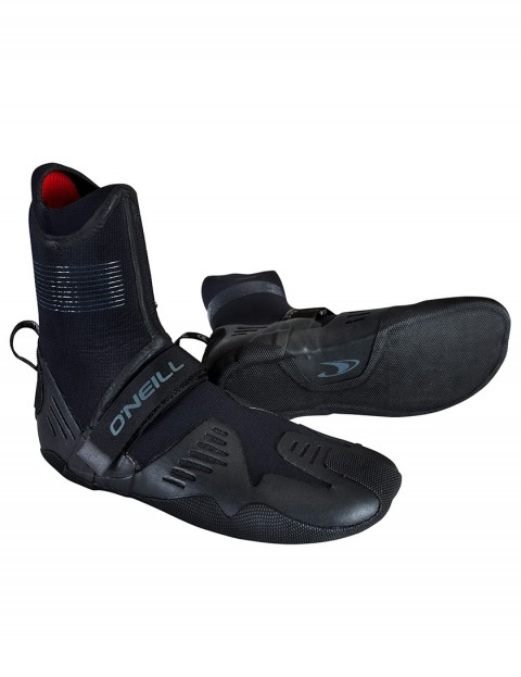 O'Neill Psycho Tech Round Toe 7mm wetsuit boots 2019 - Black