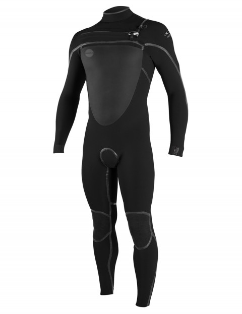 O'Neill Psycho Tech Chest Zip 5/4mm wetsuit 2018 - Black/Black