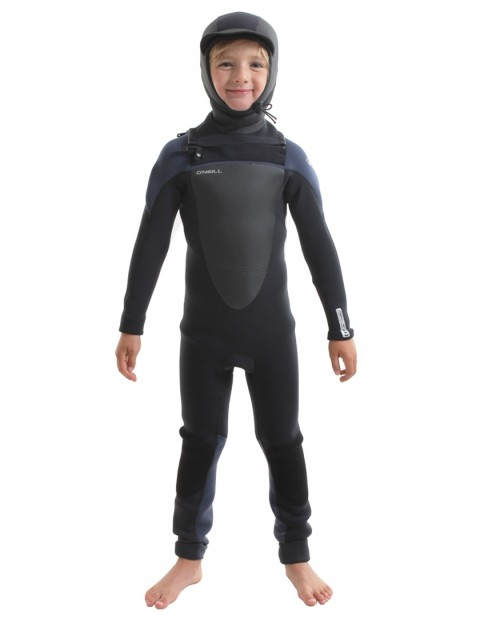 O'Neill Boys Mutant Chest Zip 5/4/3mm wetsuit 2018 - Black/Slate