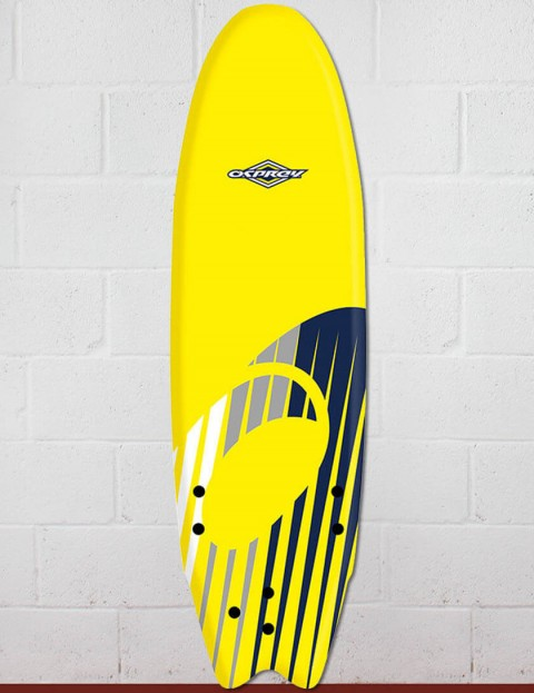 Osprey Fish Foam surfboard 6ft 0 - Shard Yellow