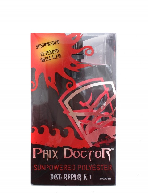 Phix Doctor SunPowered Polyester Surfboard Repair Kit (Small)