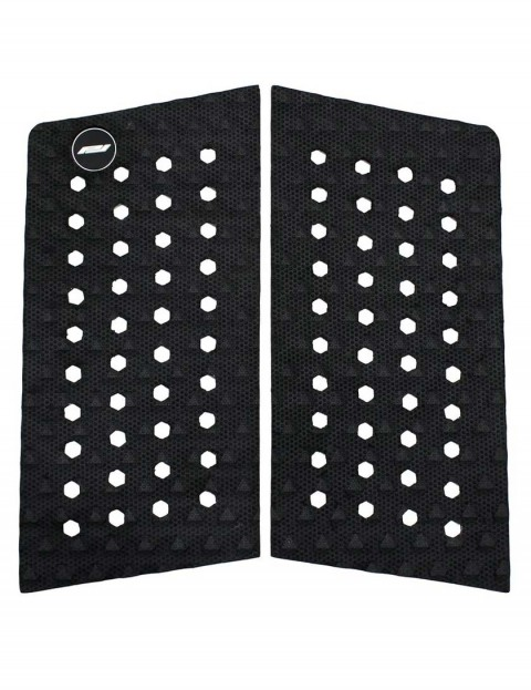 Pro-Lite 2-Piece Front Foot Surfboard Traction Pad - Black