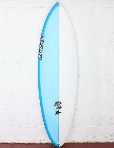 Pukas Original Sixtyniner Surfboard 6ft 2 FCS II - Blue