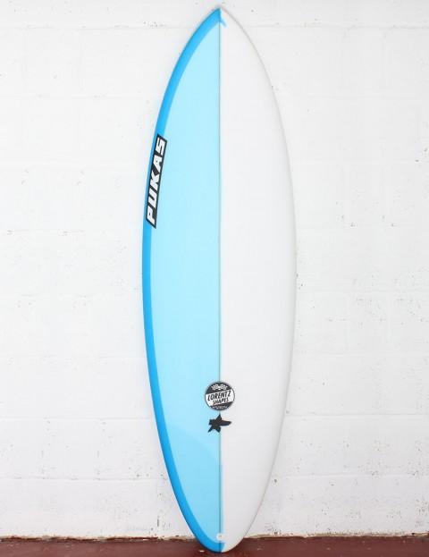 Pukas Original Sixtyniner Surfboard 6ft 2 FCS II - Blue