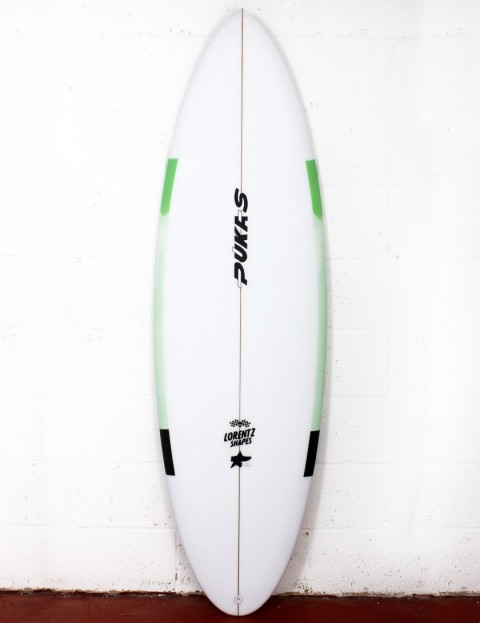 Pukas 69er Step Down surfboard 5ft 10 FCS II - Mint