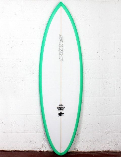 Pukas 69er Pro surfboard 6ft 1 Futures - Green