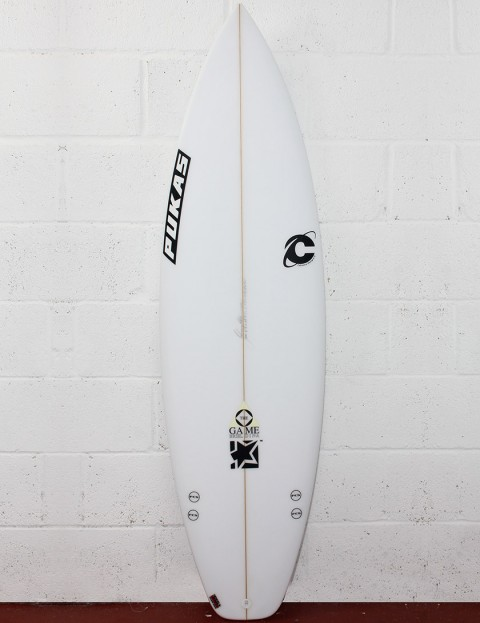 Pukas The Game Surfboard 5ft 10 - White