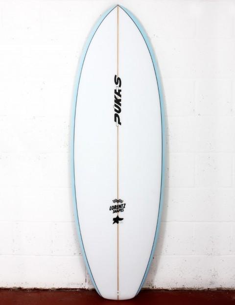 Pukas Heavens Door surfboard 5ft 11 FCS II - Sky Blue