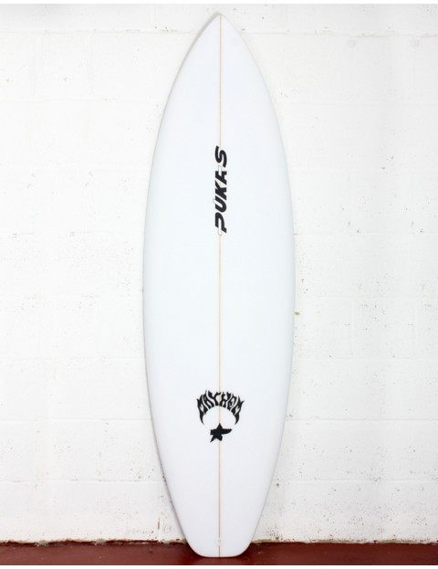 Pukas The Link surfboard 6ft 2 Futures - White