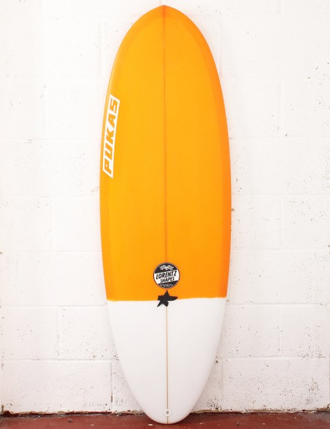 Pukas Resin Cake Surfboard 5ft 6 FCS II - Orange