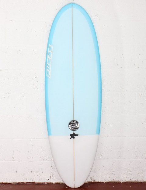Pukas Resin Cake Surfboard 5ft 9 FCS II - Blue