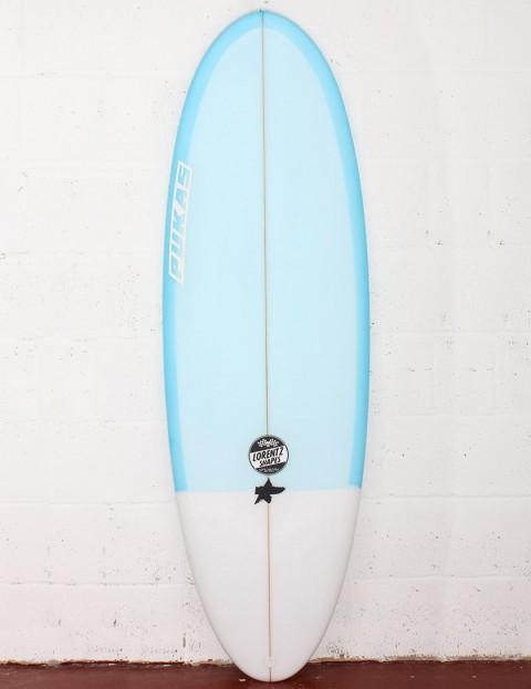 Pukas Resin Cake Surfboard 5ft 10 FCS II - Blue