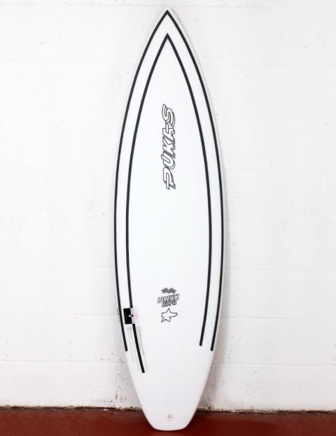 Pukas Tasty Treat surfboard INNCA 6ft 2 FCS II - White