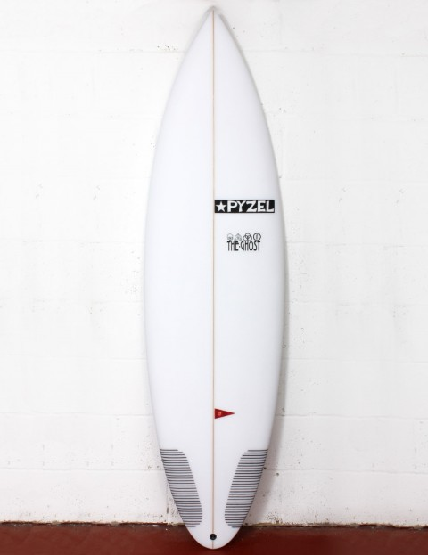 Pyzel Ghost surfboard 6ft 5 Futures - White
