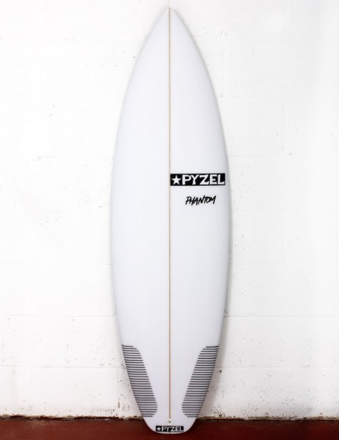 Pyzel Phantom surfboard 6ft 4 FCS II - White