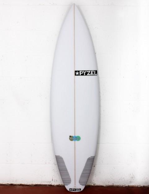 Pyzel Radius surfboard 5ft 10 Futures - White