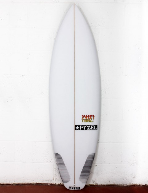 Pyzel Sure Thing surfboard 5ft 8 FCS II - White