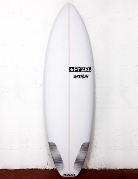 Pyzel Gremlin surfboard 6ft 4 FCS II - White