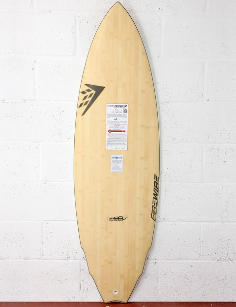 Firewire Rapidfire Activator Surfboard 5ft 11 FCS - Natural Wood