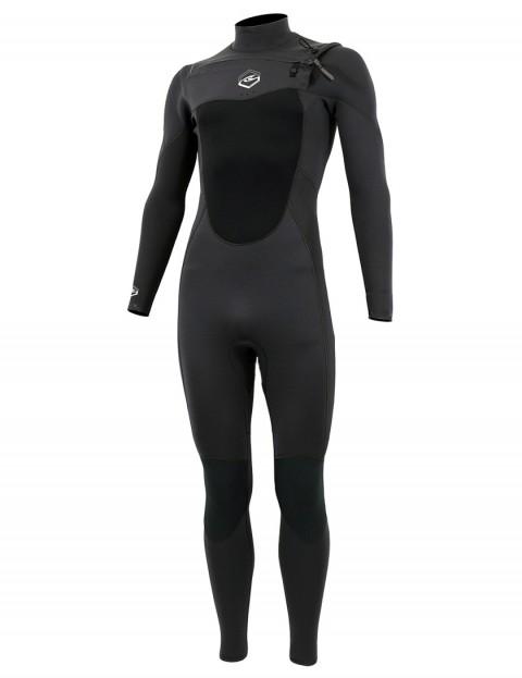 Alder Reflex Chest Zip 5/4/3mm wetsuit 2017 - Graphite