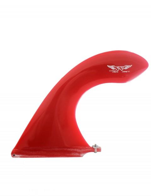 Rainbow Fin Co Wingnut Cutaway 9.0 Longboard Fin - Red