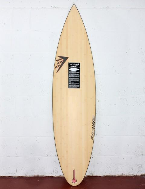 Firewire Rapidfire Flexfire surfboard 6ft 2 FCS - Natural Wood