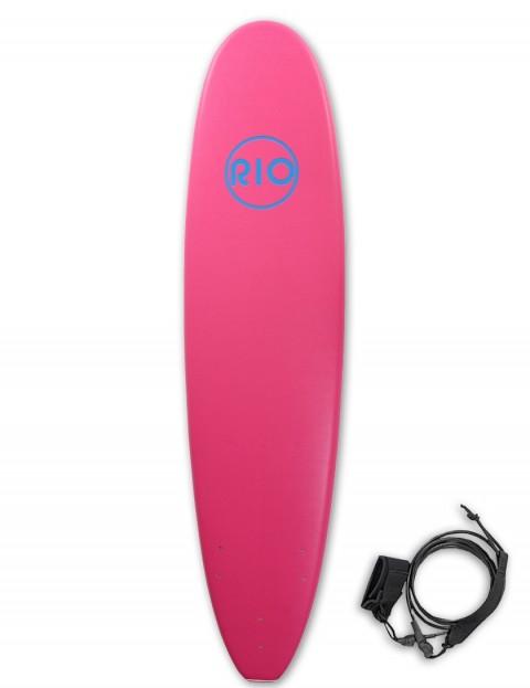 Alder Rio Soft Surfboard 7ft 6 - Pink