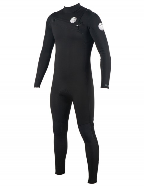 Rip Curl Aggrolite Chest Zip 3/2mm wetsuit 2019 - Black