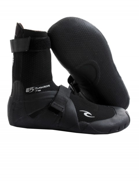 Rip Curl Flash Bomb Round Toe 7mm wetsuit boots - Black