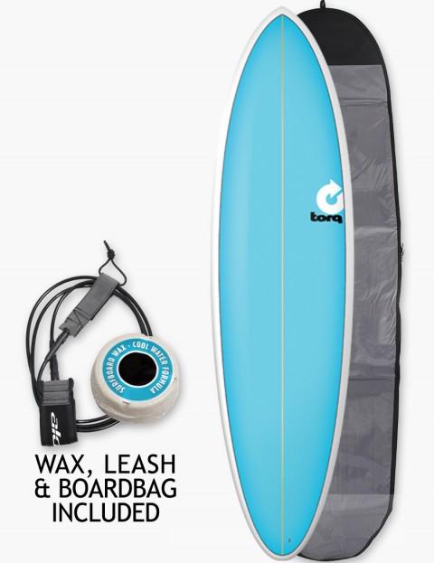 Torq Surfboards Fun soft hard Package Surfboard 6ft 8 - Blue