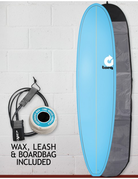 Torq Fun Surfboard Package 7ft 6 - Blue